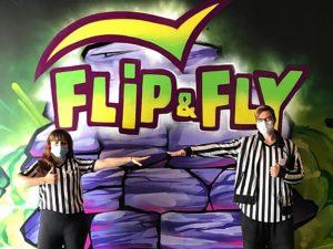 Abstandsregeln im FLIP_FLY